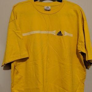 ~Adidas Mens yellow T-shirt~Size X-Large~